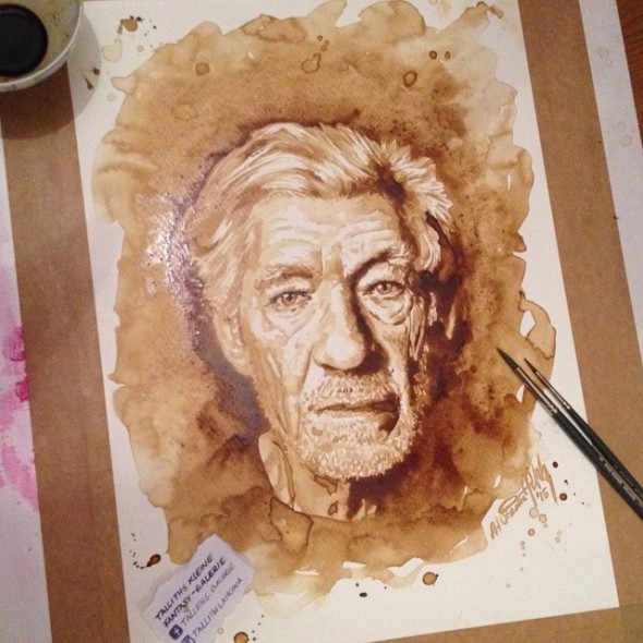 Sir Ian McKellen, Kaffee